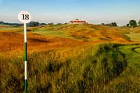 18th Hole - Arcadia Bluffs G.C.