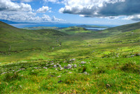 Conner Pass - Dingle Bay View - Ireland