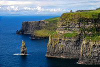 Cliffs of Moher and Sea Stack - Ireland