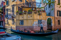 Buildings and Gondolas - Italy