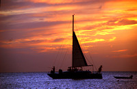 Aruba - Amazing Sunset on the West Coast