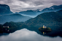 A View from Bled Castle - Slovenia
